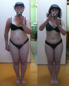 результат модельной диеты