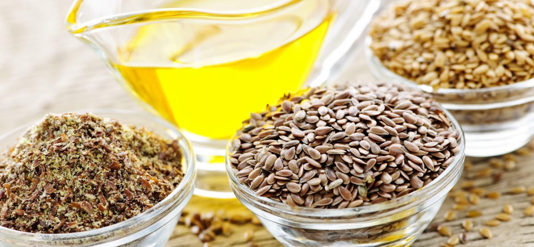 Льняное масло при диете на кашах